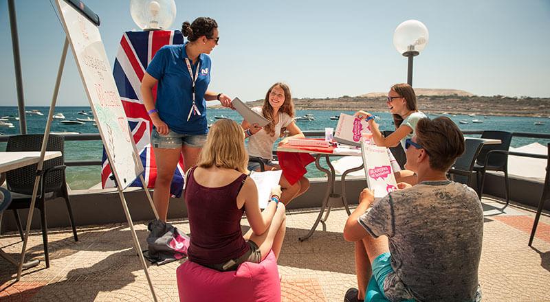 Hotel Seashells Resort**** – Englisch lernen auf Malta