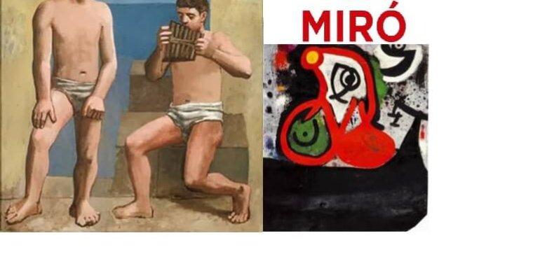 PICASSO & MIRO: Das Fleisch und der Geist