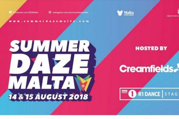 """Summer Daze Malta""  14. & 15. August 2018"