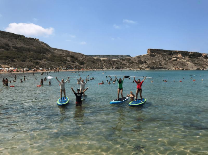Sprachreise inkl. Wassersport – Surfen, Schnorcheln, SUP (13-17Jahre)