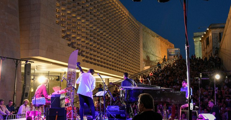 Malta Jazz Festival 2019. 15-20 Juli 2019