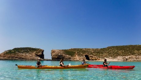 Kayak Gozo and Comino beautiful coast