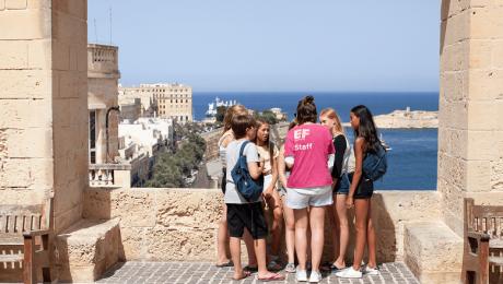 Gruppensprachreisen für Schüler (14-16) in Sliema