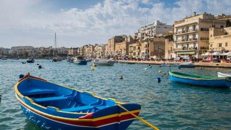 Traumhaft gelegene, klimatisierte Ferienwohnung für 2-4 Pers mit unverbautem Blick auf die Bucht von Marsaskala