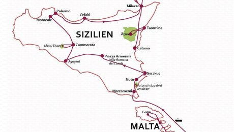 Klassische Kleingruppenreise  – Cultura Grande – Malta/Gozo/Sizilien/Lip. Inseln – inkl. Hygiene-Konzept